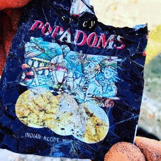 2. 31 year old popadom packet (c) final straw solent