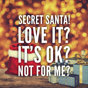 Secret Santa - love it or hate it?