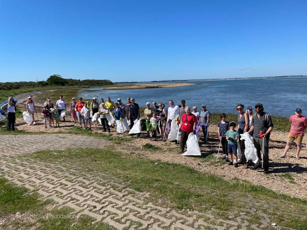 Hayling Island Beach Clean